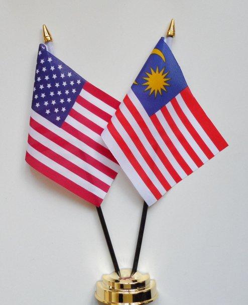 bendera malaysia amerika