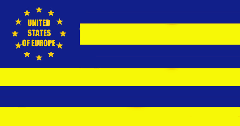 bendera united states of europe