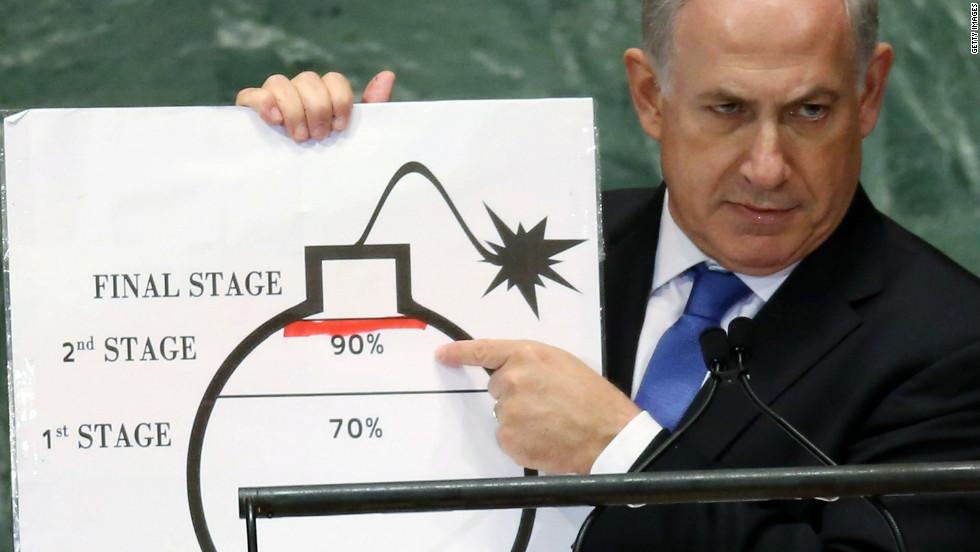 benjamin netanyahu nuklear israel
