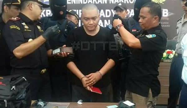benjy ditahan di indonesia sorok dadah dalam dubur 11a87