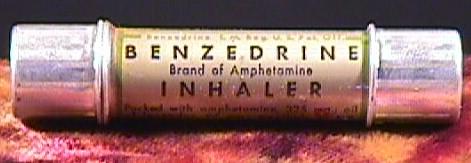 benzedrine inhaler amphetamine