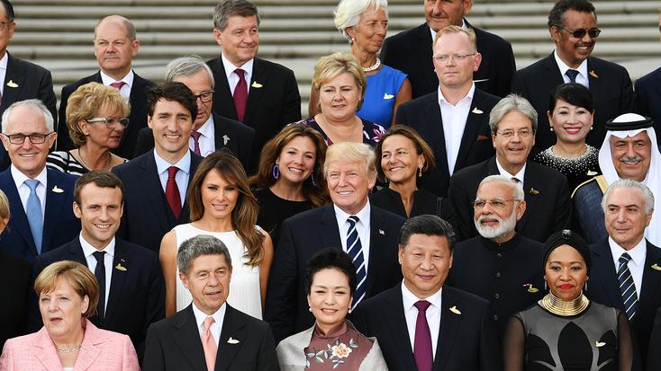 berapa buah bilangan negara dalam dunia pemimpin dunia