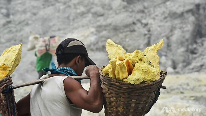 berat sulfur boleh mencecah 80kg