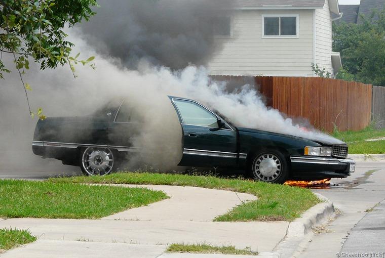 berhentilah merokok dalam kereta