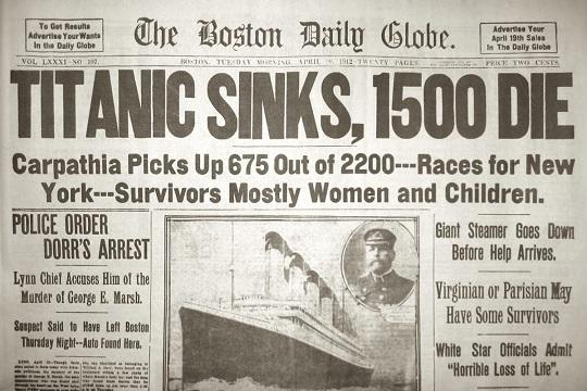 berita kemalangan titanic 222