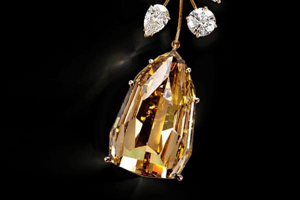 berlian kuning