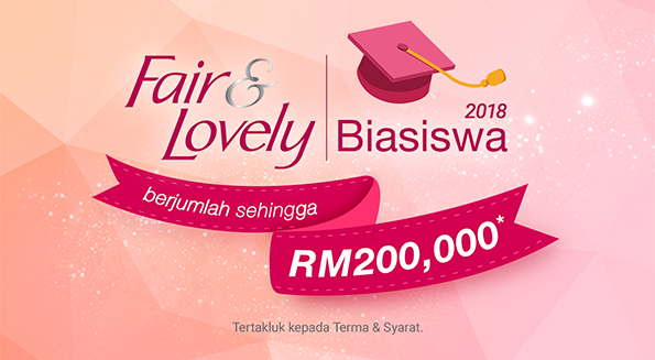 biasiswa fair lovely 2018