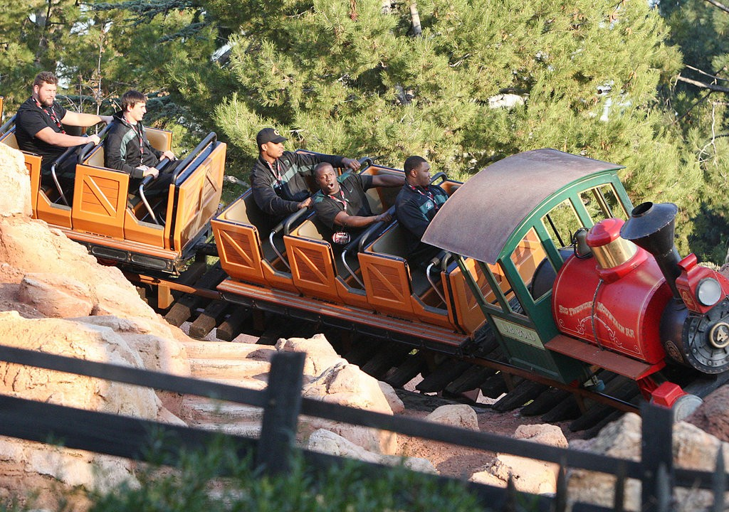 big thunder mountain railroad roller coaster 99