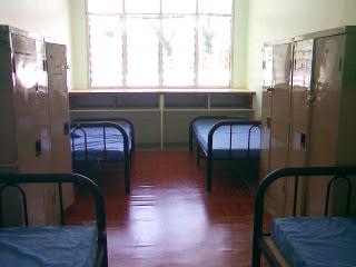 bilik asrama perlu sentiasa kemas dan bersih