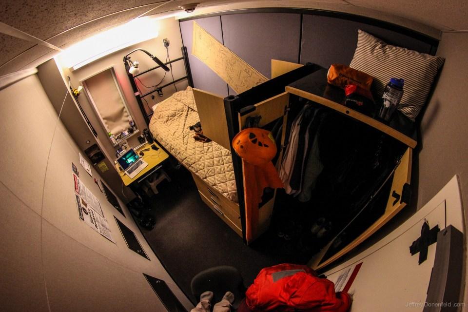 bilik tidur kabin kutub selatan