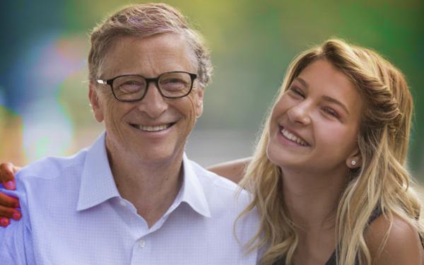 bill gates dan anak perempuannya