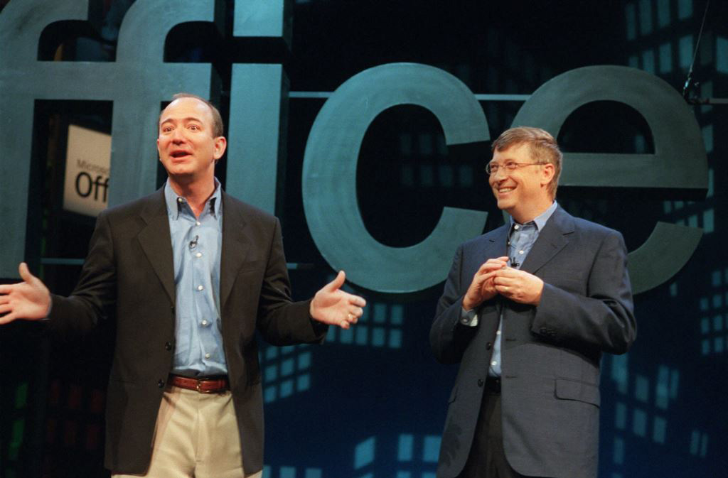 bill gates dan jeff bezos