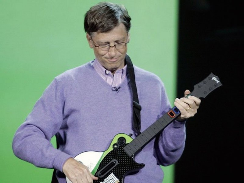 bill gates main gitar