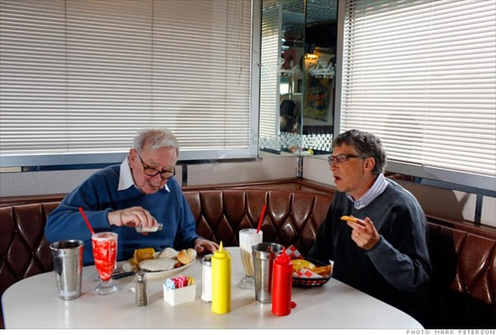 bill gates makan
