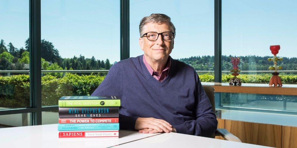bill gates seorang ulat buku