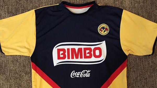 bimbo jersi club america mexico