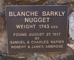 blanche barkly nugget