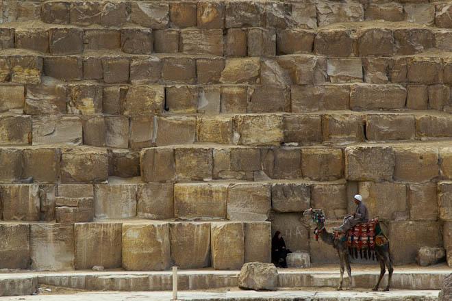 blok batuan piramid