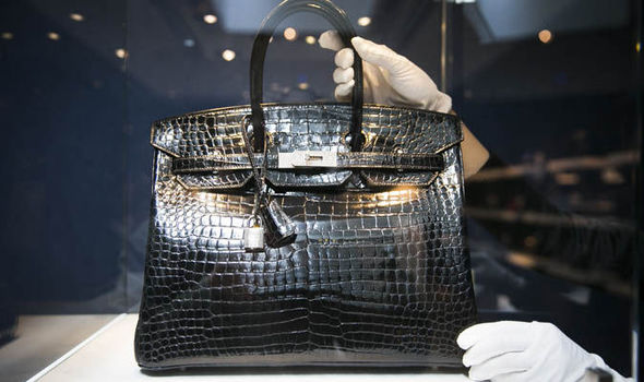 blue crocodile hermes birkin handbag beg tangan hermes birkin paling mahal pernah dijual