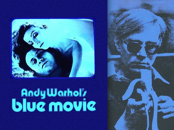 blue movie filem andy warhol