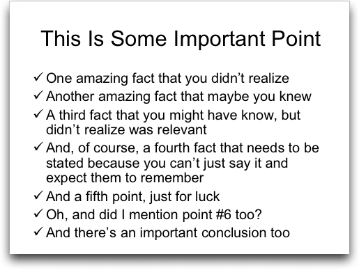 boring powerpoint slide