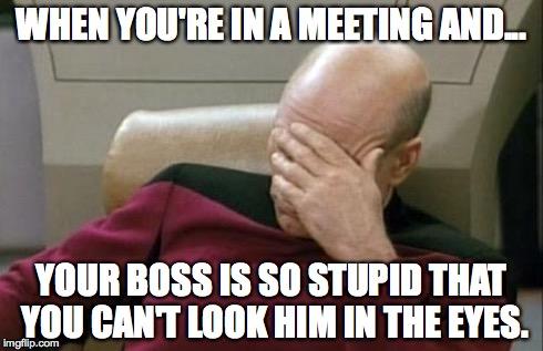 boss kurang berpengalaman mungkin boleh menyebabkan keputusan kurang bijak diambil