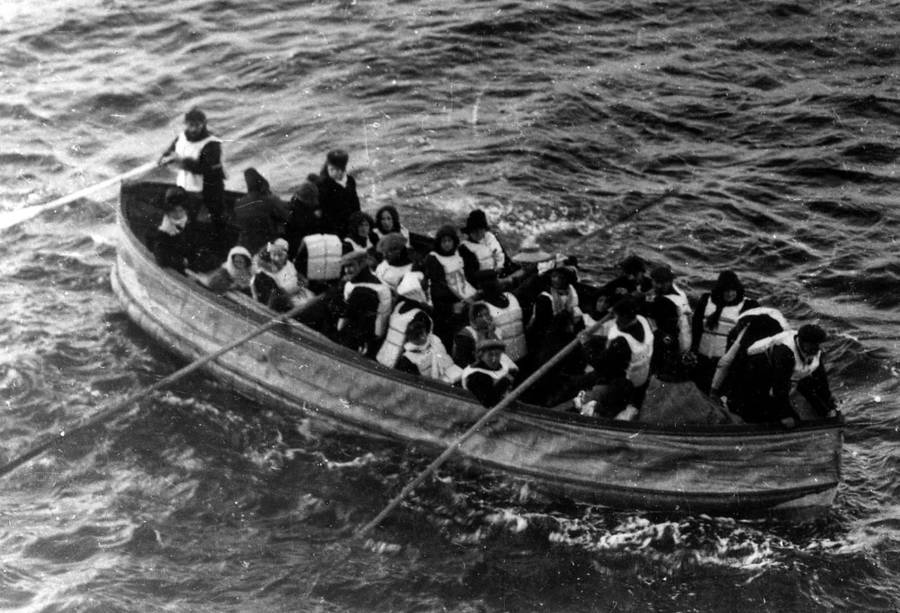 bot penyelamat terakhir yang berlepas dari titanic