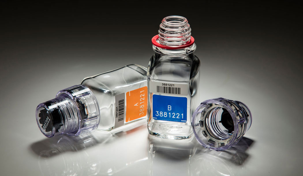 botol berlinger untuk ujian air kencing