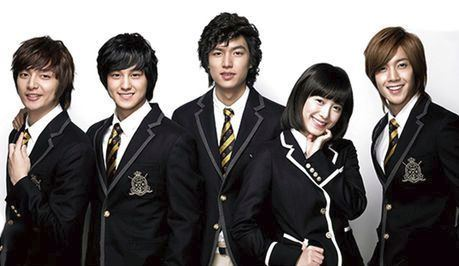 boys over flower gelombang korea