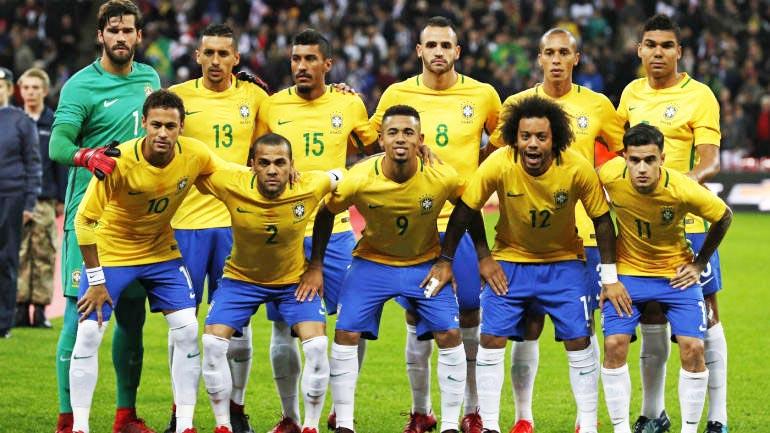 brazil 5 pasukan piala dunia 2018 yang memiliki pemain bintang paling ramai 268