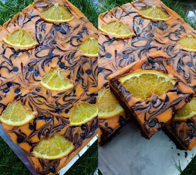 brownies orange