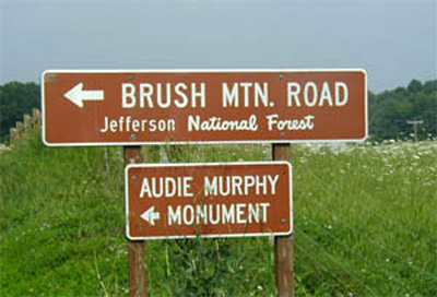 brush mountain kawasan monumen