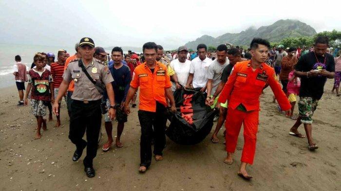 buaya bawa mayat ke pantai di indonesia