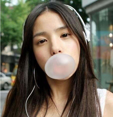 bubble gum chewing gum kunyah gula gula getah