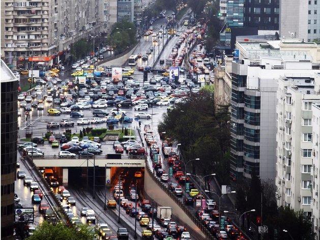 bucharest trafik sesak paling teruk dalam dunia