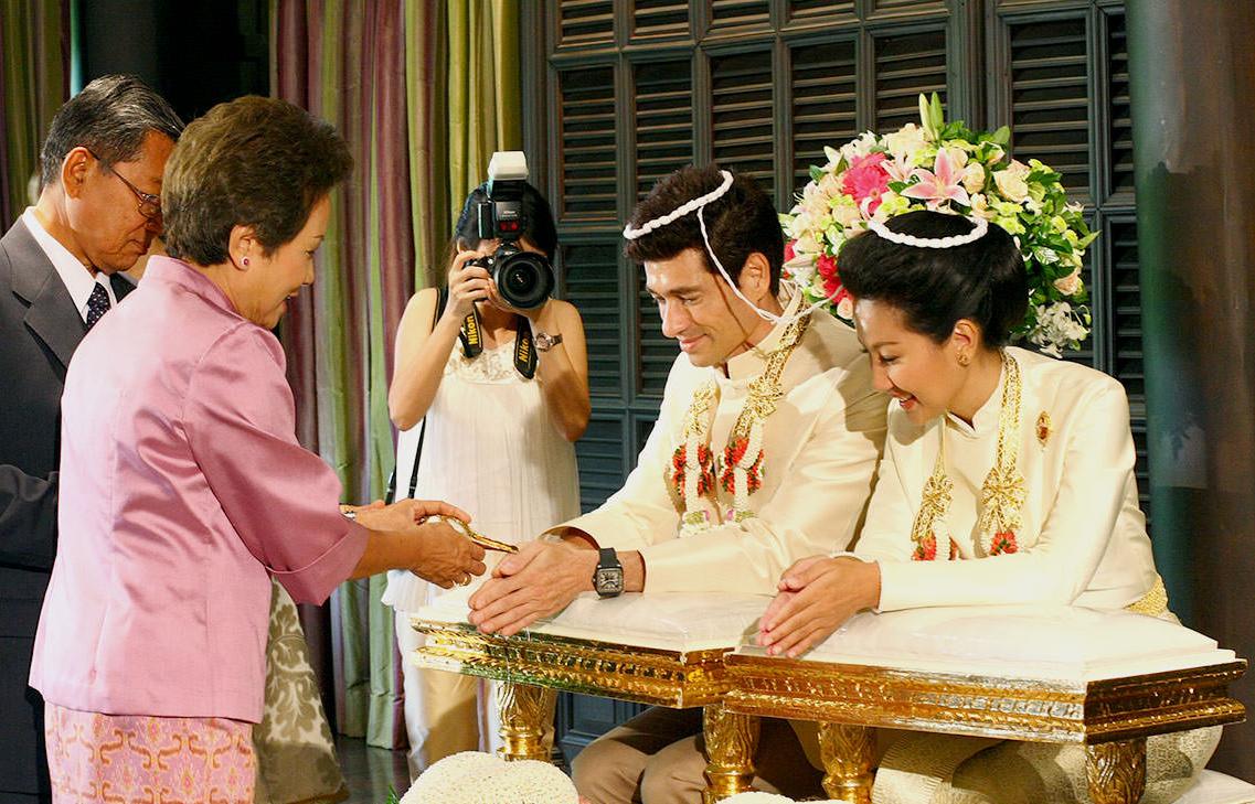budaya perkahwinan dan bersanding di siam