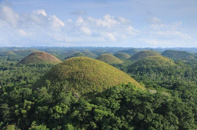 bukit cokelat filipina