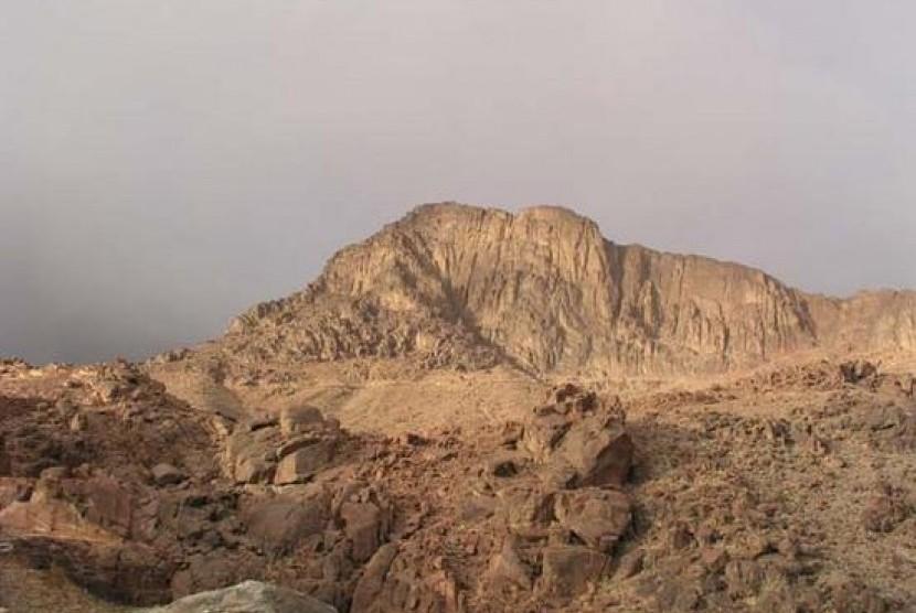 bukit thursina pandangan atas