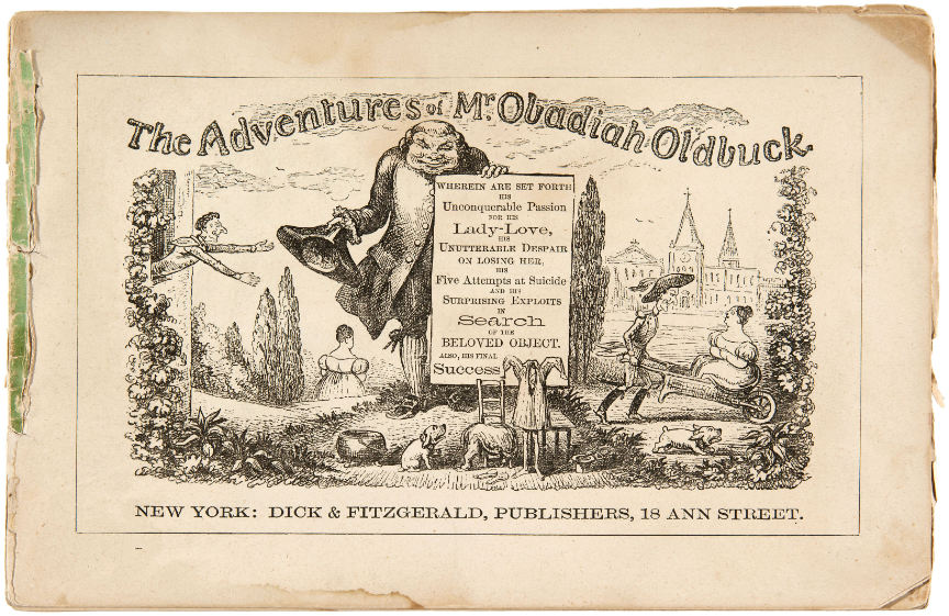 buku komik pertama di dunia the adventures of obadiah oldbuck