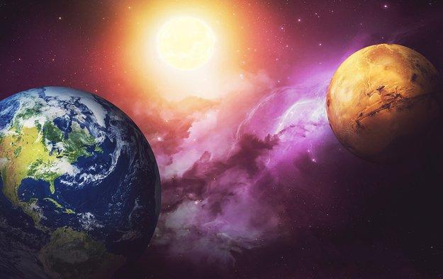 bumi dan marikh