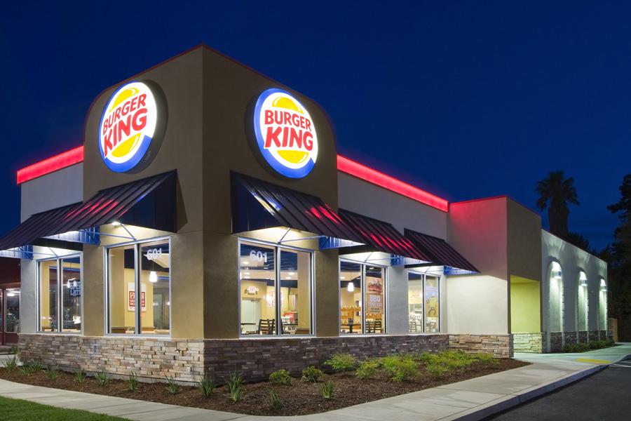 burger king menu merupakan restoran segera terbesar