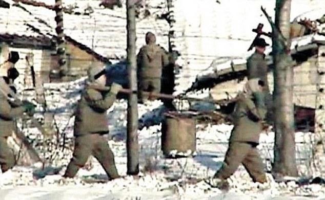 buruh paksa menjadi salah satu agenda pemerintahan korea utara