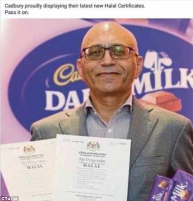 cadburry malaysia halal