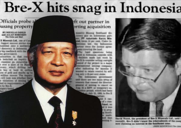 campur tangan kerajaan indonesia ke atas bre x