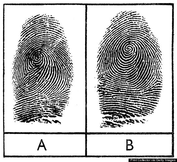 cap jari pasangan kembar seiras adalah tak sama