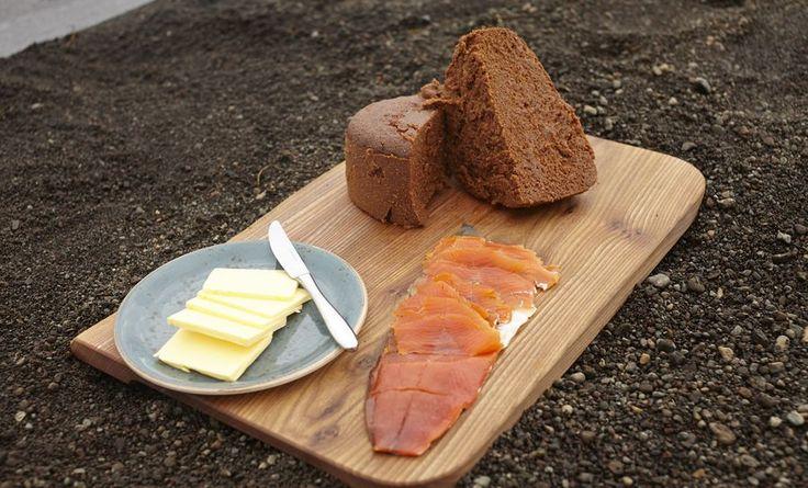 cara buat roti gunung berapi iceland sedap