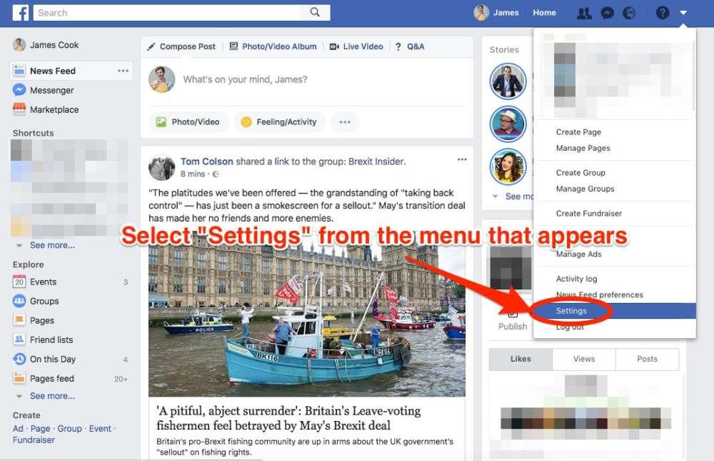 cara menyekat dan melihat semua aplikasi di facebook yang menjejaki maklumat peribadi anda 2