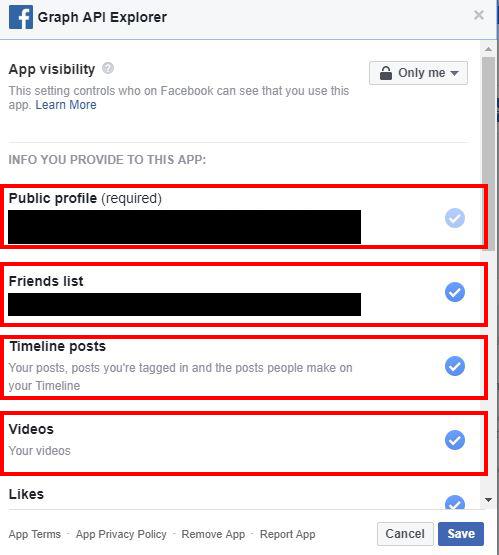 cara menyekat dan melihat semua aplikasi di facebook yang menjejaki maklumat peribadi anda 8