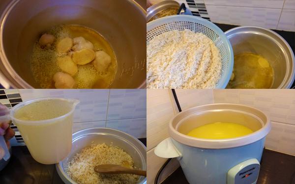 cara penyediaan nasi ayam