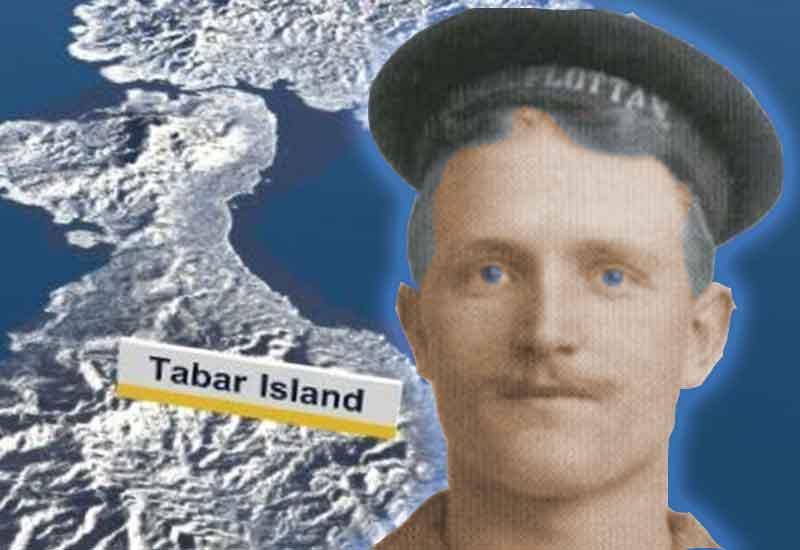 carl raja pulau tabar
